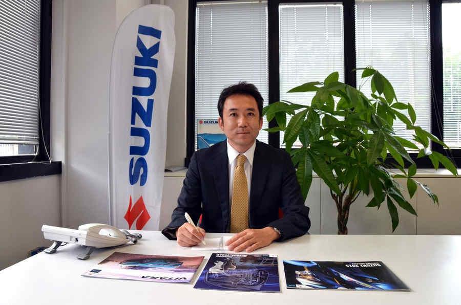 Nuovo Presidente Suzuki Italia hiroshi kawamura