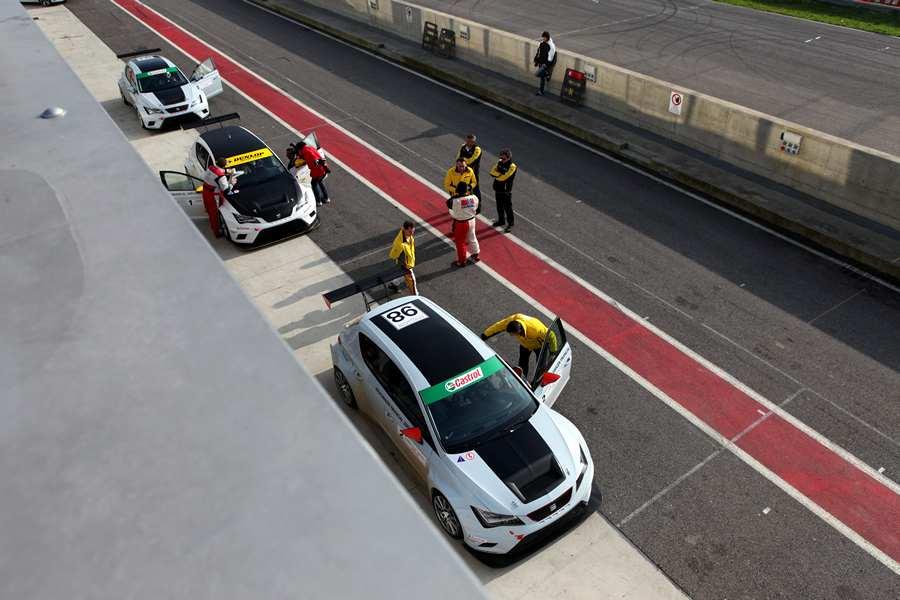 Seat in pista San Martino Cremona Circuit