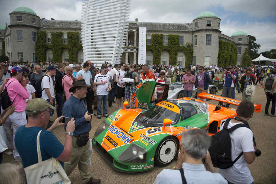 Photo of GOODWOOD 2015 ha festeggiato Mazda
