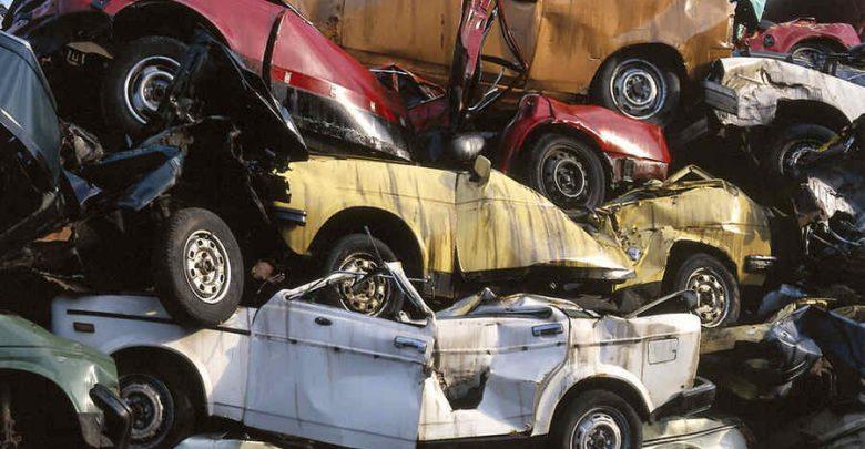 Auto demolizione Radiazione