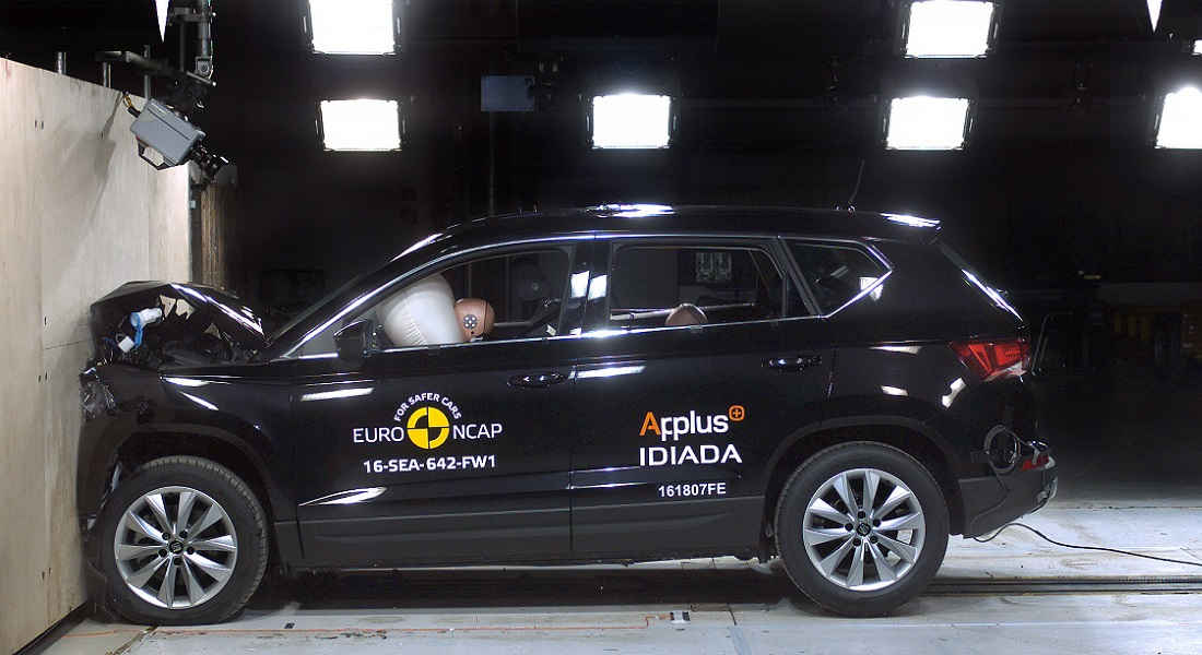 crash test euro ncap seat ateca. Black Bedroom Furniture Sets. Home Design Ideas