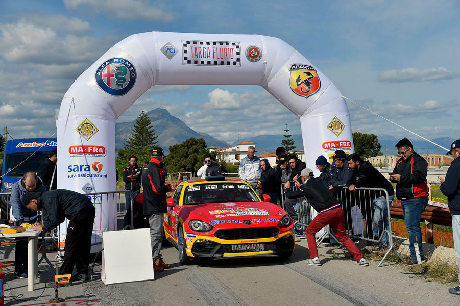 Salvatore Riolo, Gianfranco Rappa (Abarth 124 Rally #11, CST Sport)