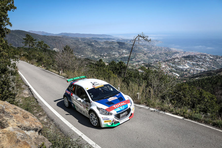 Peugeot 208 Rally Andreucci 2017 Rally Sanremo