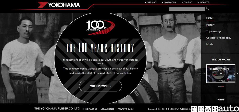 yokohama-home-page-sito-100-anni