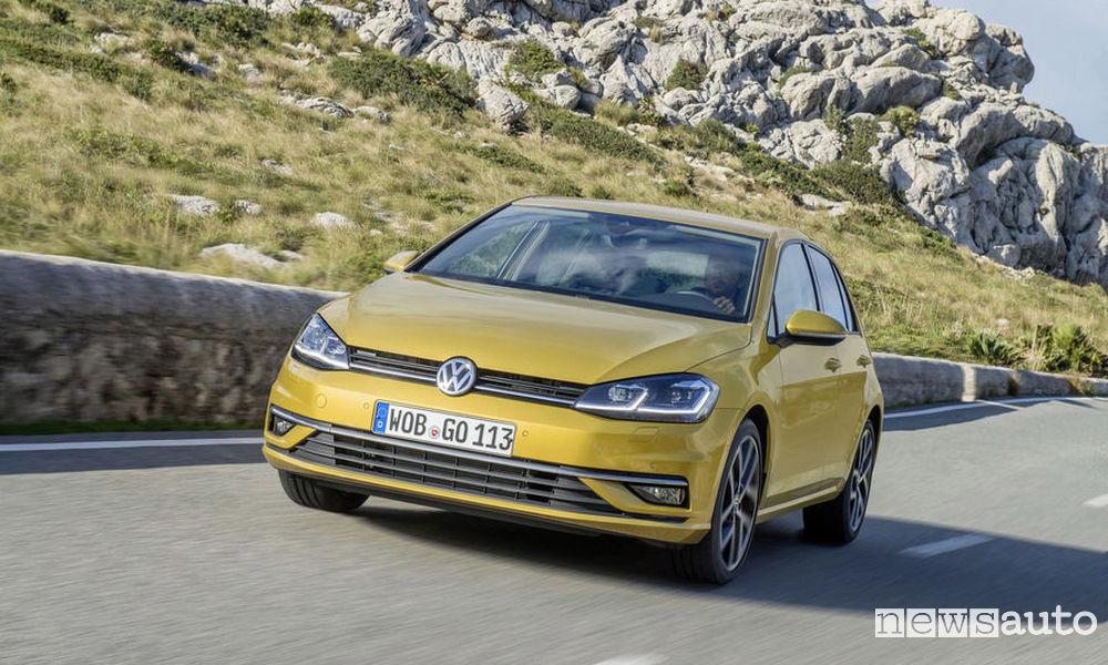 auto usate più richieste Volkswagen Golf