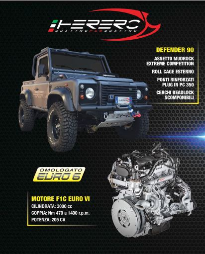 Land Rover Defender Herero4x4 FPT Euro 6