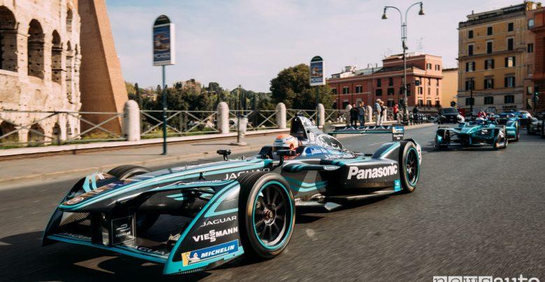 E-Prix di Roma Jaguar