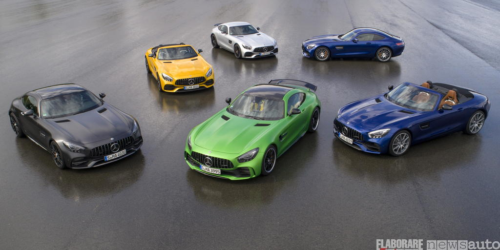 Mercedes-AMG GT test family