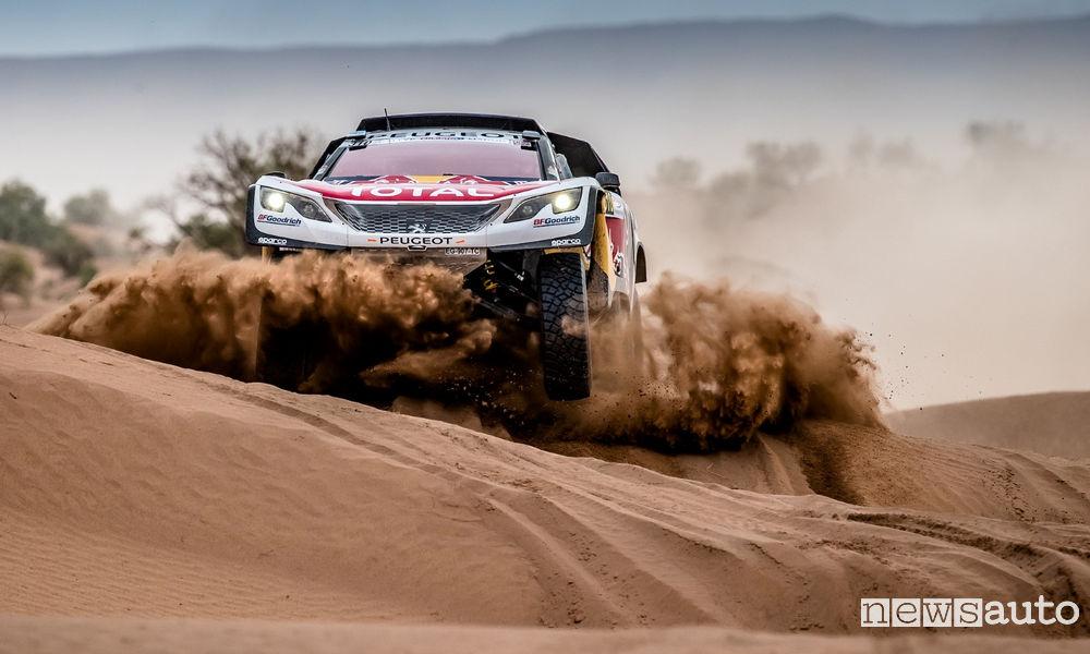 4^ tappa Rally del Marocco Peugeot 3008DKR