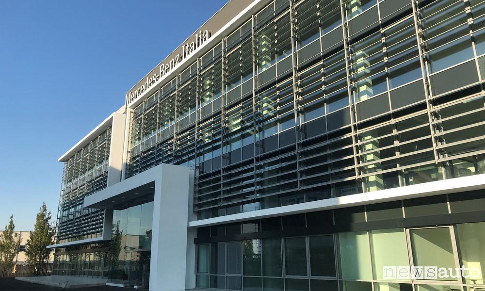 Mercedes-Benz la nuova sede di Roma