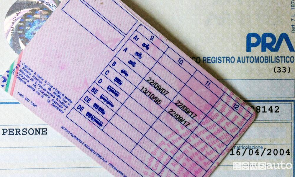 rinnovo patente di guida e scadenza - newsauto.it