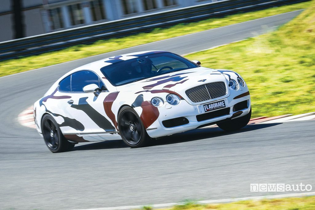 Auto dei vip! Bentley Continental GT