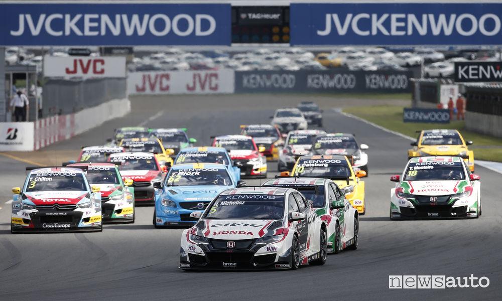 nuovo campionato Fia WTCR regolamento sportivo regolamento tecnico