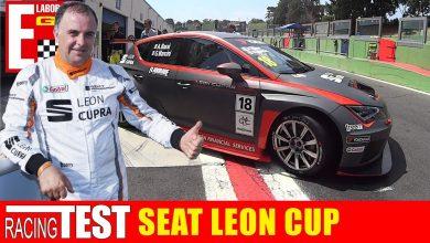 auto da gara Seat Leon Cup Racer auto da pista vallelunga mancini