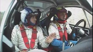 Rally navigatore incidente