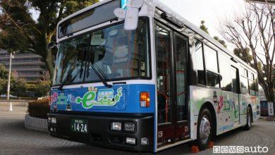 Autobus elettrici Giappone
