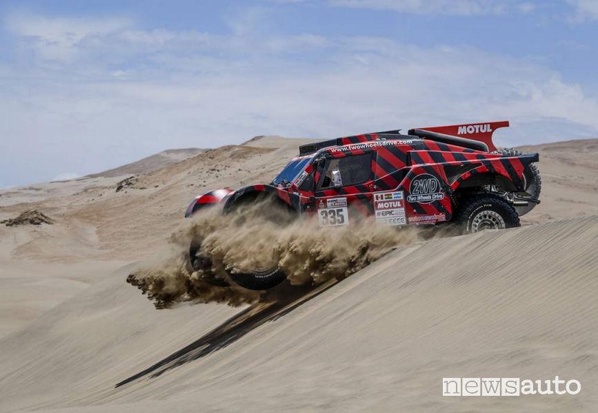 Dakar 2018 4^ tappa Eugenio Amos
