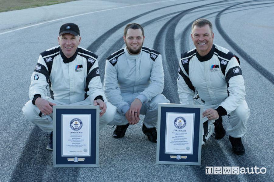 Record di drifting BMW M5 Johan Schwartz
