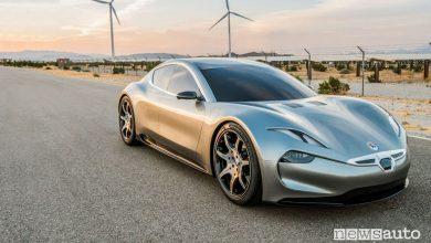 Foto Supercar elettrica Fisker EMotion