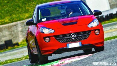 Opel Adam prova in pisra