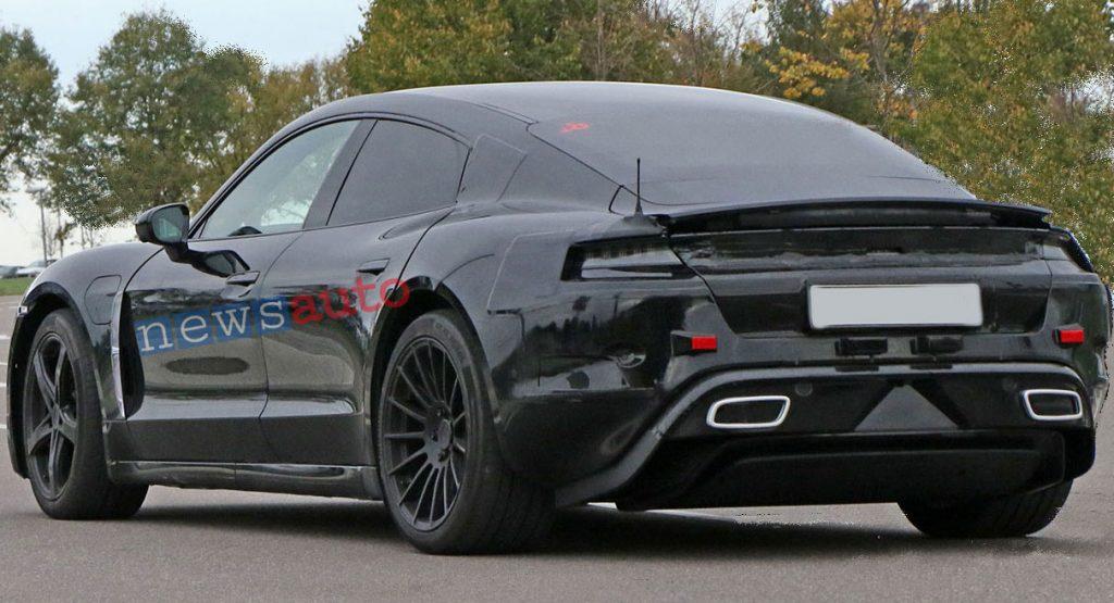 Porsche-elettrica Missione E foto modello definitive