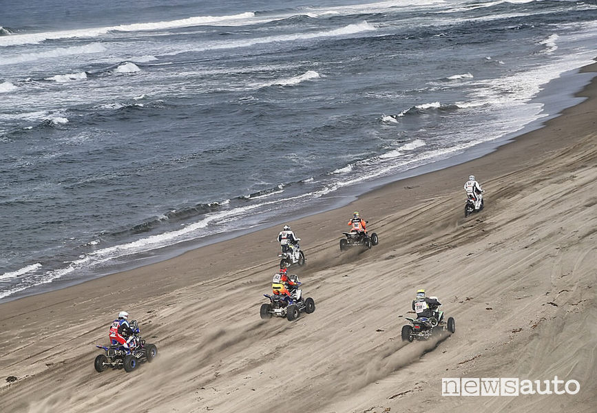 Dakar 2018 4^ tappa partenza