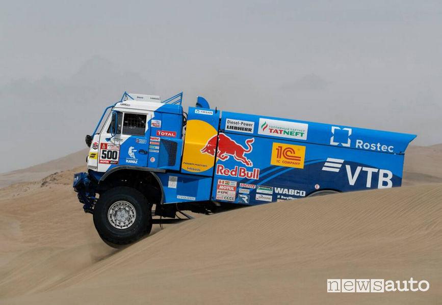 Dakar 2018 4^ tappa Kamaz