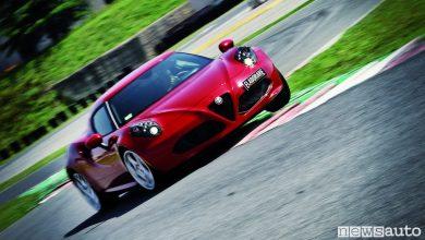 Alfa_Romeo_4C sul cordolo triettoria