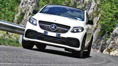 Mercedes-AMG GLE 63 S vista anteriore