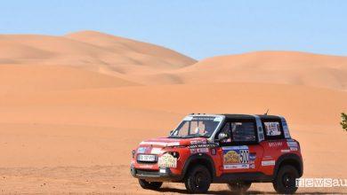 Auto elettrica da rally nel deserto Citroen E-Mehari