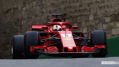Qualifiche F1 Gp Azerbaijan Ferrari Sebastian Vettel