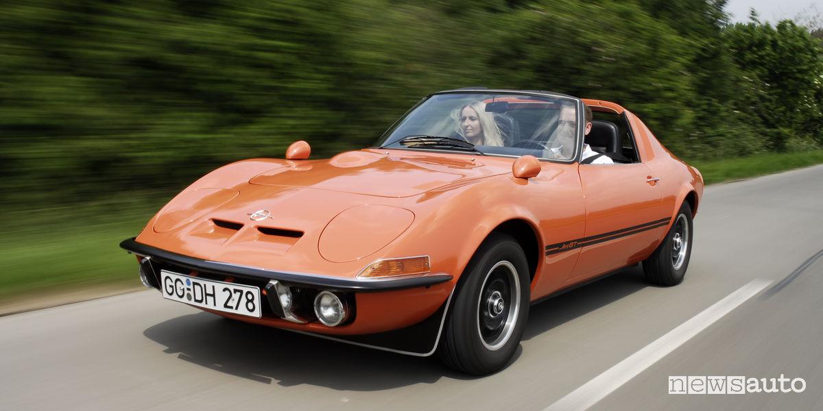 Opel GT storica