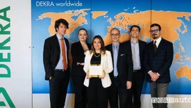 Dekra Antifrode Premio Riconoscimento