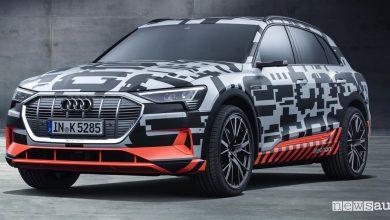 Auto elettrica Audi e-tron