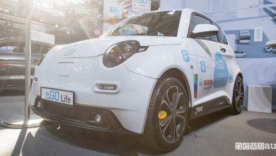 Parcheggio autonomo Bosch e.GO