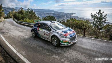 Classifica Rally Sanremo 2018 Peugeot Andreucci