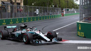 F1 2018 classifiche gara Azerbaijan Lewis Hamilton
