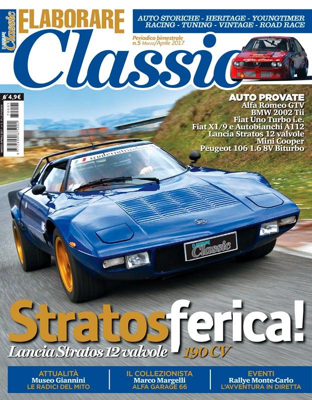 Lancia Stratos magazine ELABORARE CLASSIC