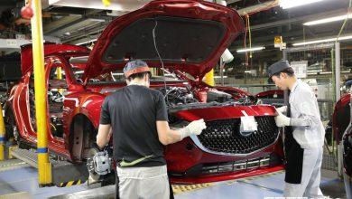 Produzione auto Mazda record in Giappone