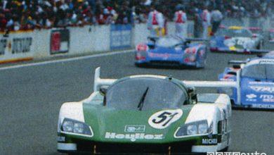 record velocità le mans WM Peugeot Le Mans 1988 record di velocità