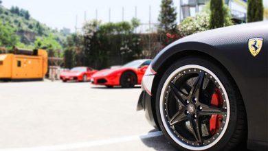 Ferrrari 599 ruota dischi in carbonio