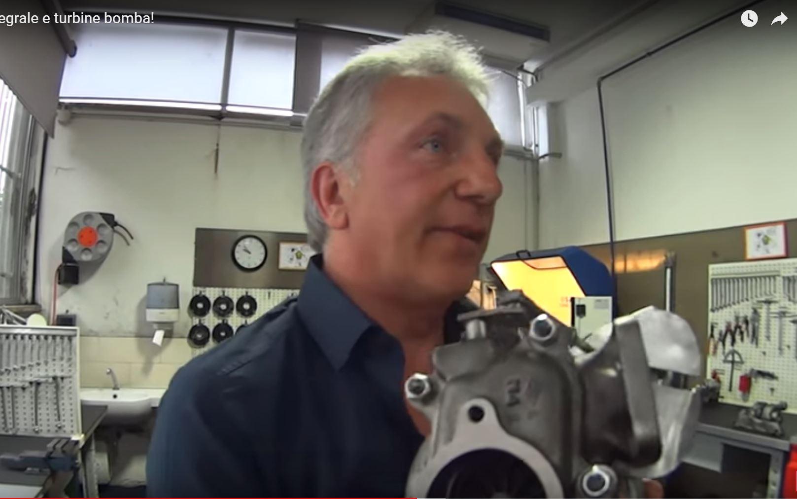 Stefano Gallo saito lancia delta video
