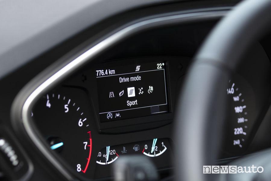 Ford Focus Active Quadro Strumenti Foto Newsauto It