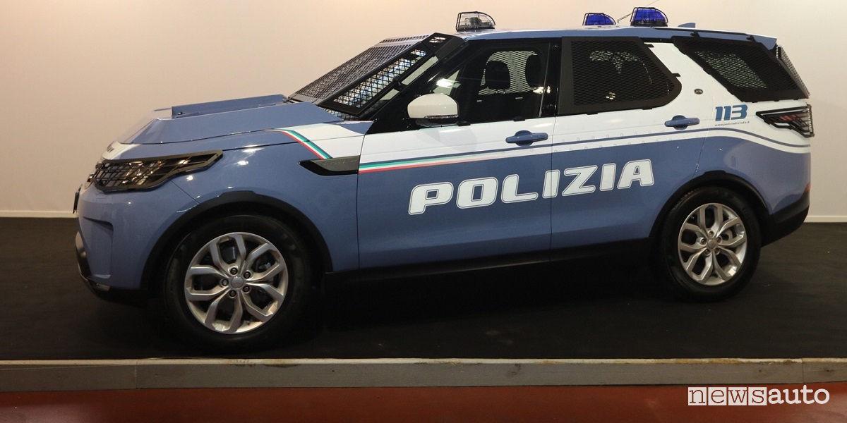 Auto Della Polizia Nuova Pantera Fuoristrada Land Rover Newsauto It